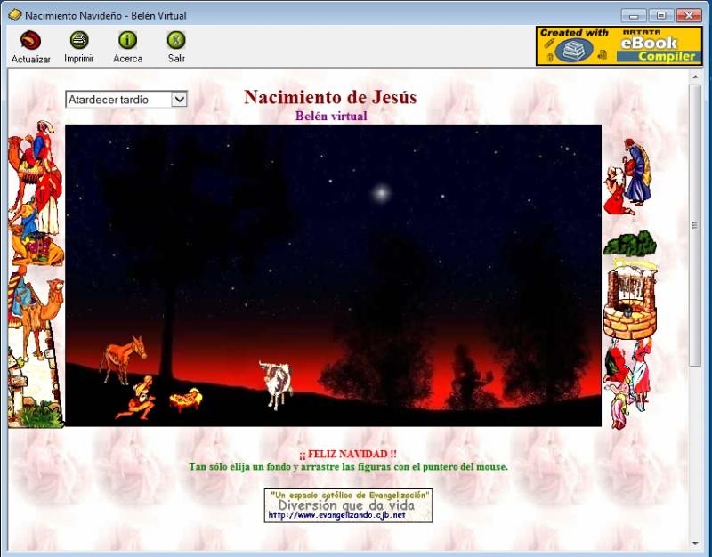 Pantallazo Belen Virtual
