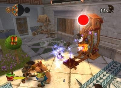 Pantallazo Asterix y Obelix en los Juegos Olimpicos