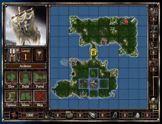 Pantallazo Empires and Dungeons