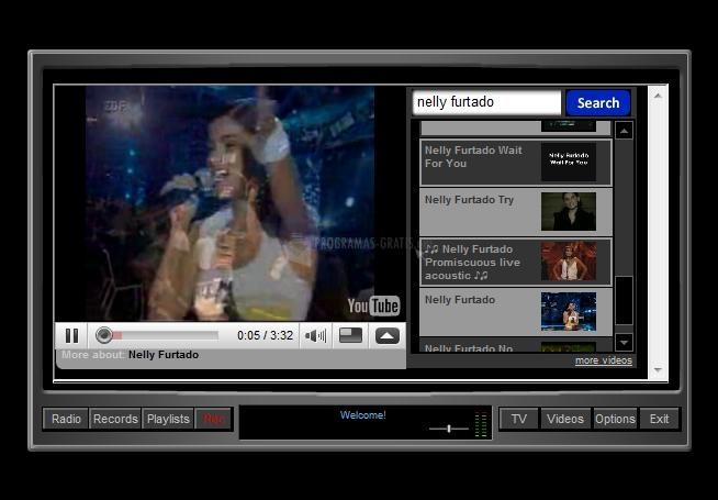 Pantallazo MP3 Free TV