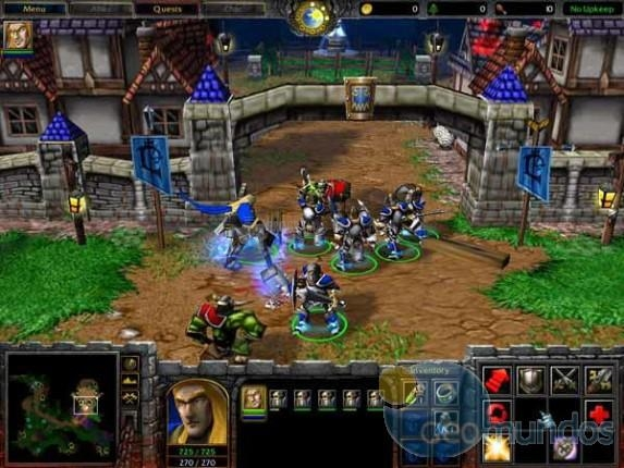 Pantallazo Warcraft 3: Reign of Chaos