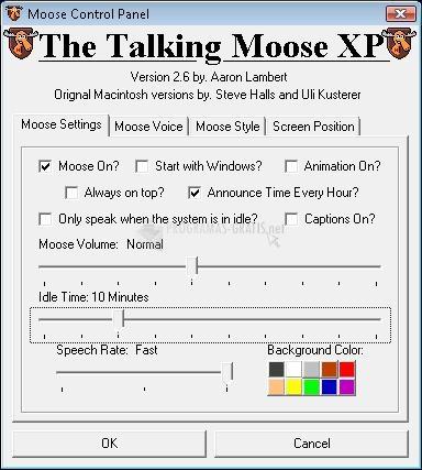 Pantallazo The Talking Moose