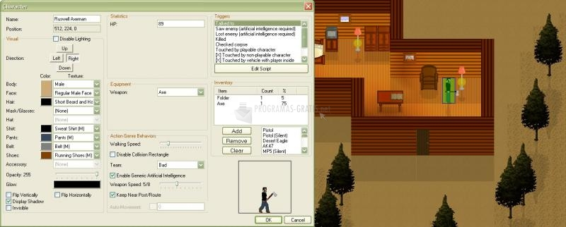 Pantallazo Engine001 Action/RPG Maker