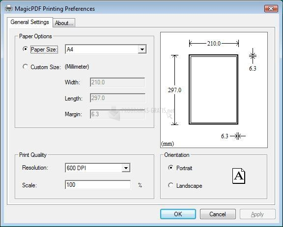 Pantallazo Magic PDF