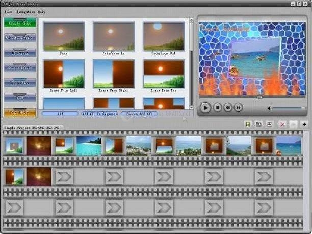 Pantallazo AVTJet Video Studio