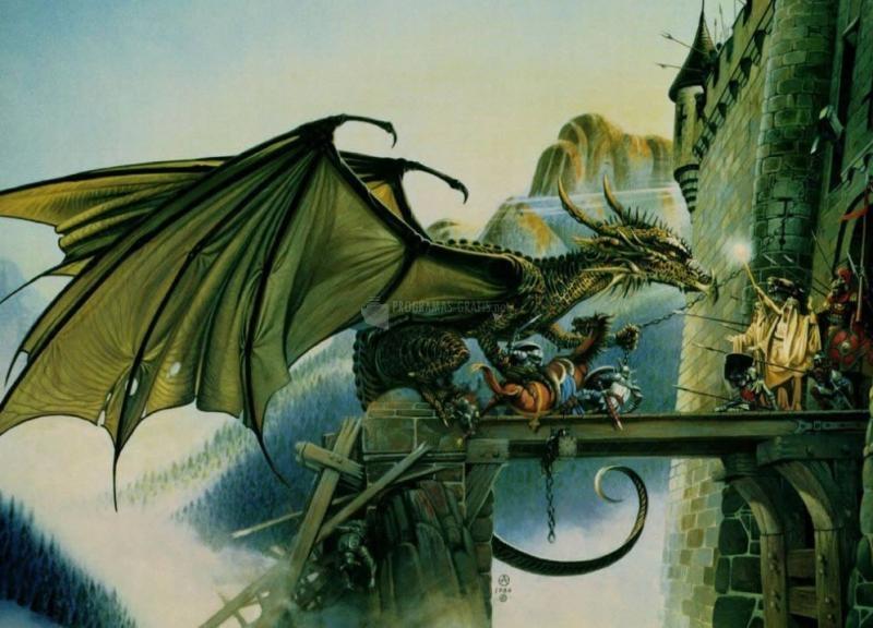 Pantallazo Dragón al ataque