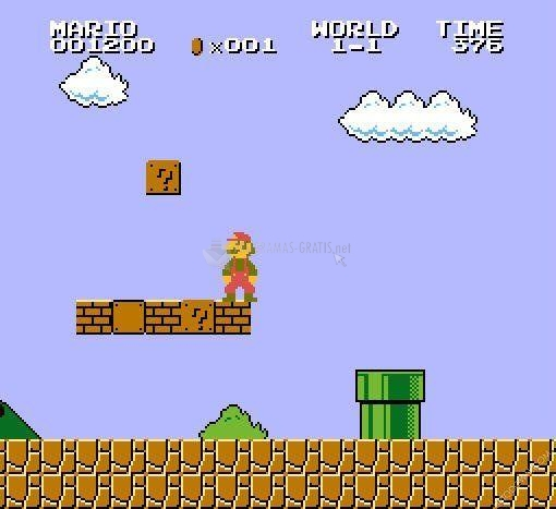 Pantallazo Super Mario Bros Level
