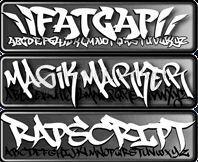 Pantallazo Graffitti Fonts Free Collection