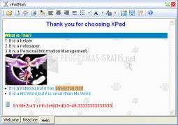 Pantallazo My xPad