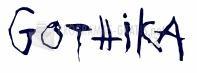 Pantallazo Gothika Font