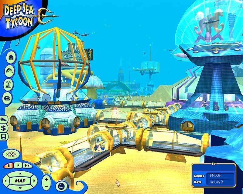 Pantallazo Deep Sea Tycoon