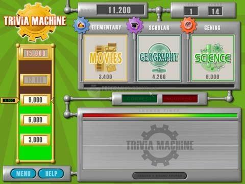 Pantallazo Trivia Machine
