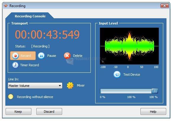 Pantallazo WaveMax Sound Editor