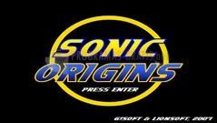 Pantallazo Sonic Origins