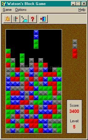 Pantallazo Block Game