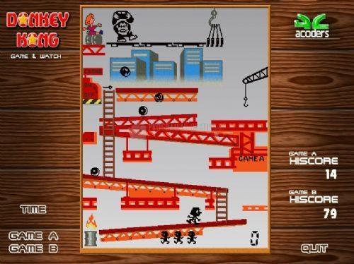 Pantallazo Donkey Kong GW