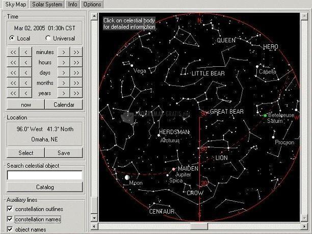 Pantallazo AstroViewer