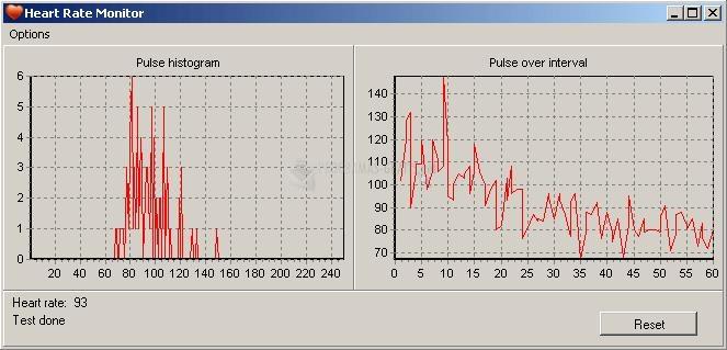 Pantallazo Heart Rate Monitor