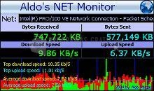 Pantallazo Aldo Net Monitor