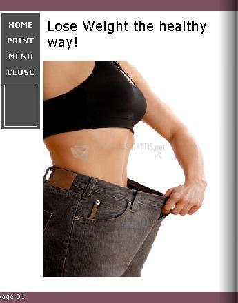 Pantallazo Weight Loss