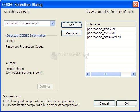 Screenshot PECompact