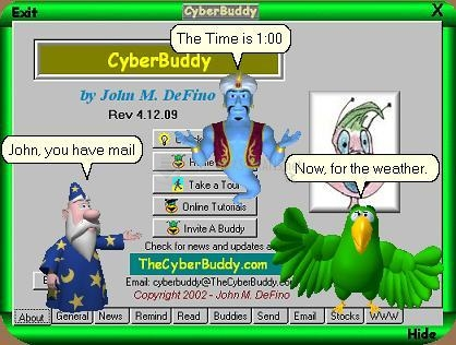 Pantallazo CyberBuddy