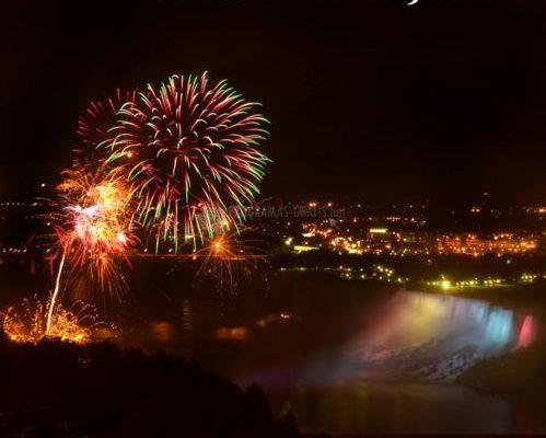 Pantallazo Niagara Falls Fireworks