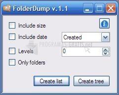 Pantallazo FolderDump