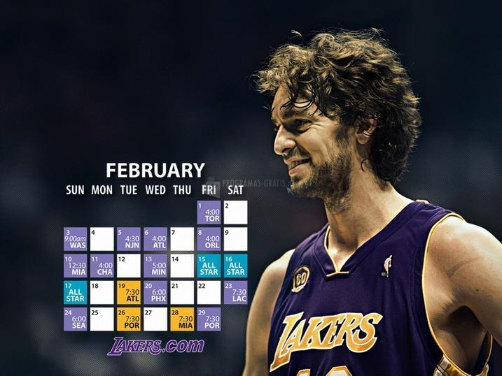 Pantallazo Pau Gasol en Los Angeles Lakers