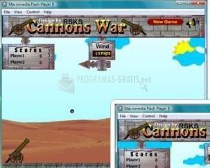 Pantallazo Cannons War