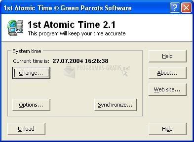 Pantallazo 1st Atomic Time