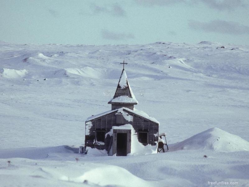 Pantallazo Iglesia en la Nieve
