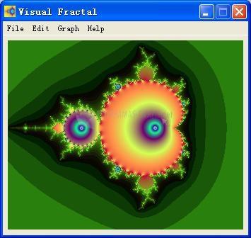 Pantallazo Visual Fractal