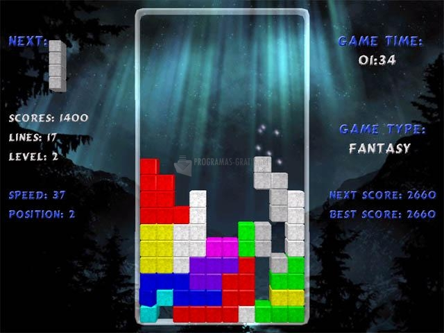 Pantallazo Terminal Tetris