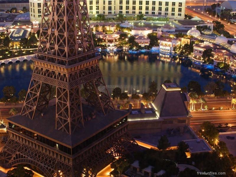 Pantallazo Las Vegas por la Noche