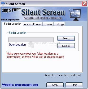 Pantallazo Silent Screen