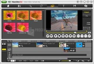 Screenshot HT Video Editor