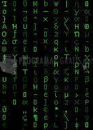 Pantallazo Matrix Screen Locker