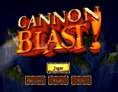 Pantallazo Cannon Blast Deluxe