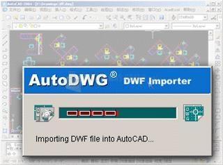 Pantallazo DWF Importer