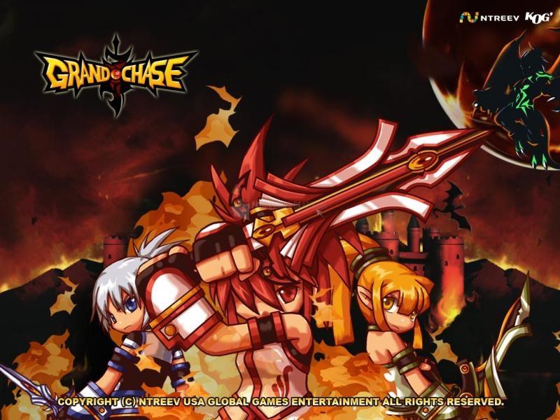 Pantallazo Grand Chase - Luchando por Bermesiah
