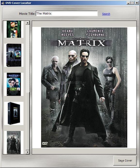Pantallazo DVD Cover Locator