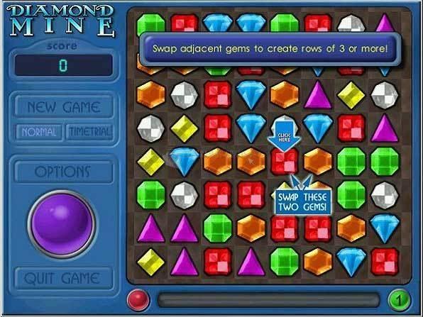 Pantallazo Diamond Mine Deluxe