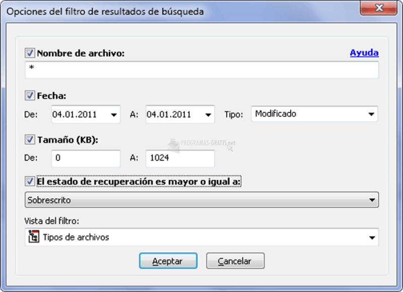 Foto Easy File Undelete