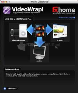 Pantallazo VideoWrap