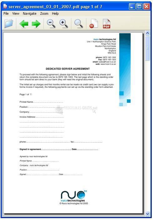 Pantallazo Haihaisoft PDF Reader