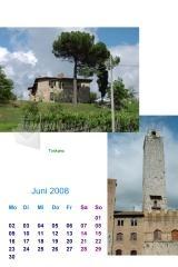 Pantallazo TKexe Kalender (English)
