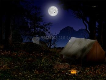 Pantallazo Night in the Forest