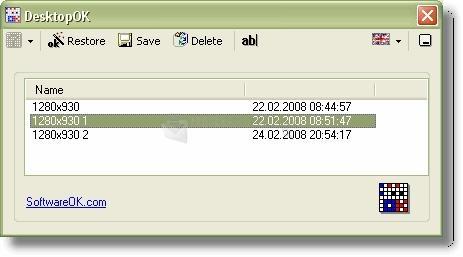 Pantallazo DesktopOK