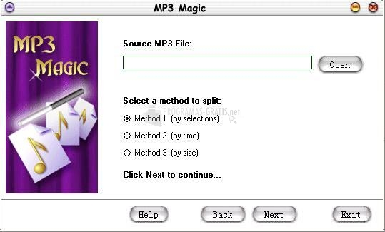 Pantallazo MP3 Magic